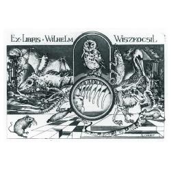 Wilhelm Wiszkocsil - Animals: Owl, mouse, chameleon