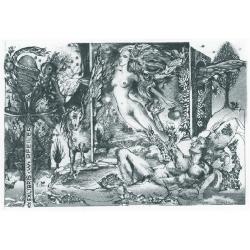 Werner PFEILER - Adam and Eva