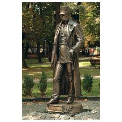 Monument to Franz Joseph I in Chernivtsi. Ukraina