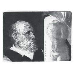 Michel Butor - Portrait: Michel Butor and Venus