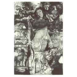 E+A Selle - Mythological: Diana, horses