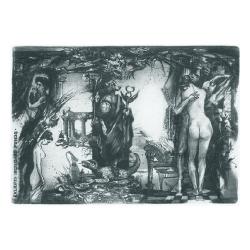 Hildegard Pungs - Mythological: Daphnis and Chloe