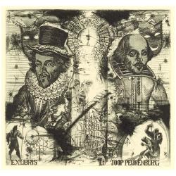 Joop Peijnenburg - William Shakespeares: portrait