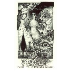 Eva Maria WIMMER - Birth fortune: lady and fish