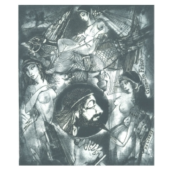 Giorgio Frigo - Ulixes, Penelope and Sirens
