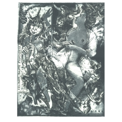 Dante Fangaresi - Minotaur, Faun and  Woman